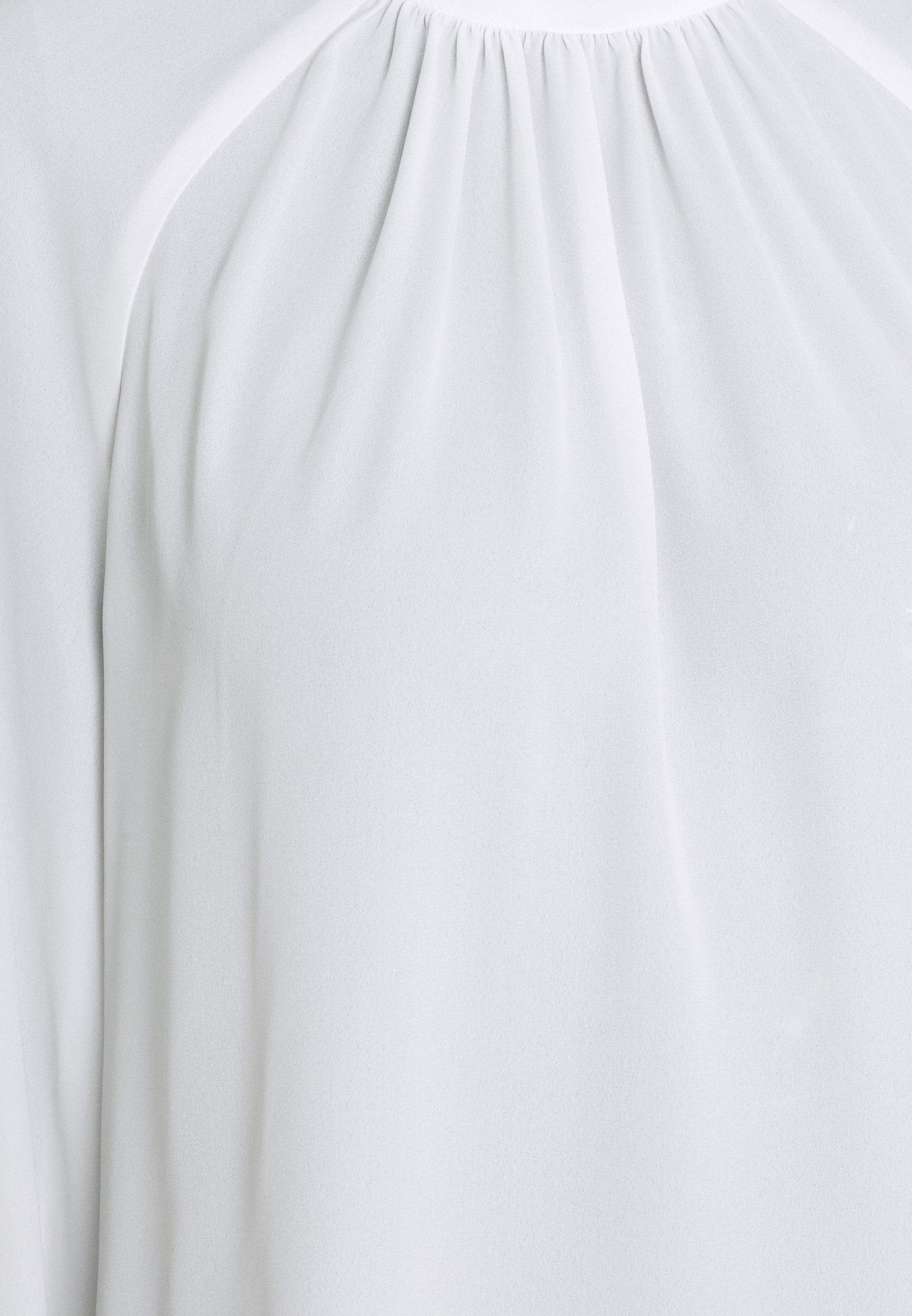 Vila Vilucy Ballon Sleeves Camp - Topper Langermet Snow White/hvit