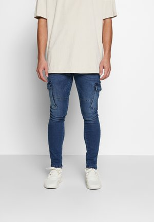Jeans Skinny Fit - mid blue wash