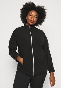 CAPSULE by Simply Be - Fleece jacket - black - 0