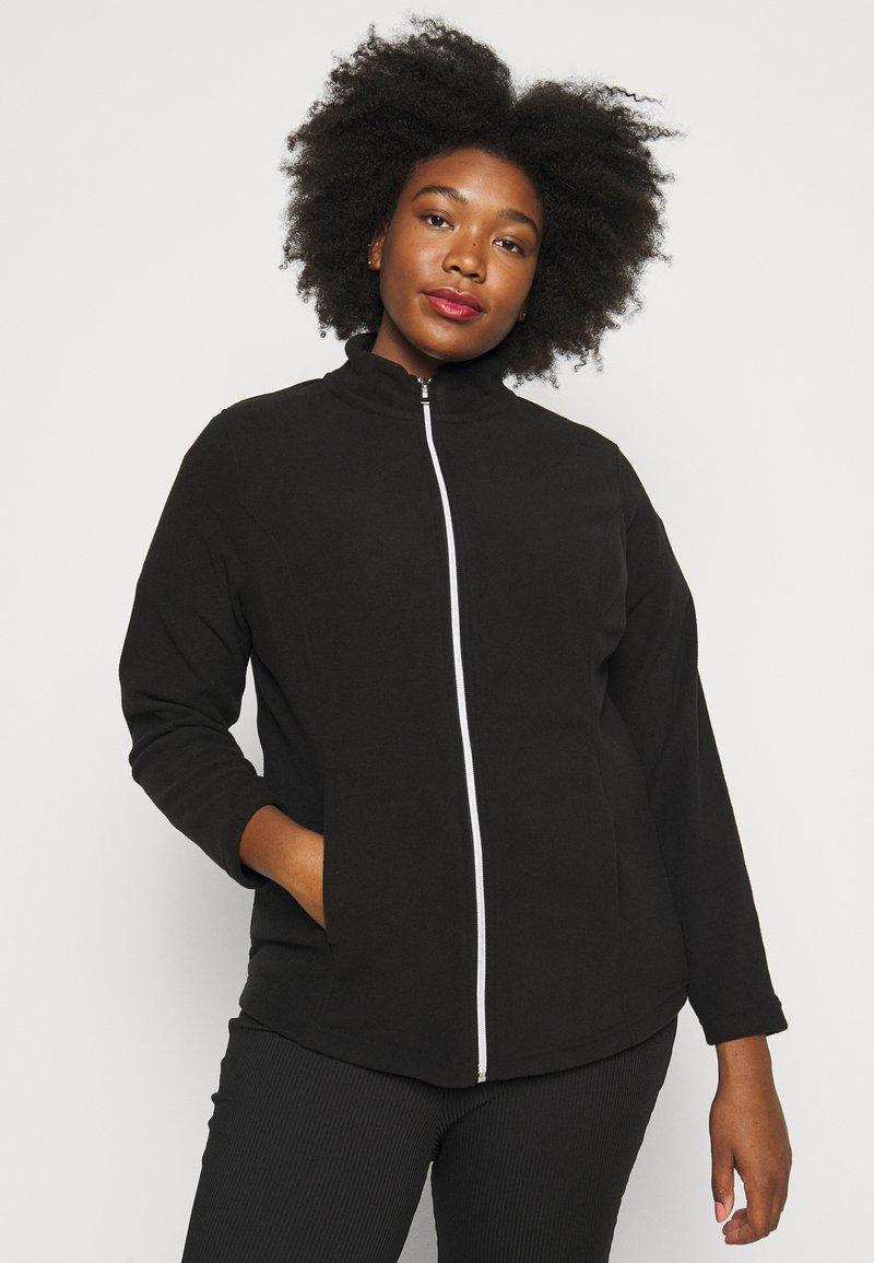 CAPSULE by Simply Be - Fleece jacket - black