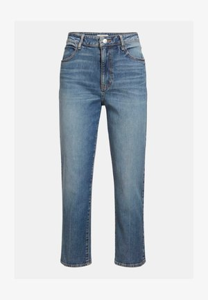 RELAXED FIT CROPPED - Slim fit jeans - blau