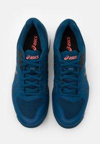 ASICS - GEL-CHALLENGER 12 CLAY - Clay court tennis shoes - mako blue/gunmetal - 3