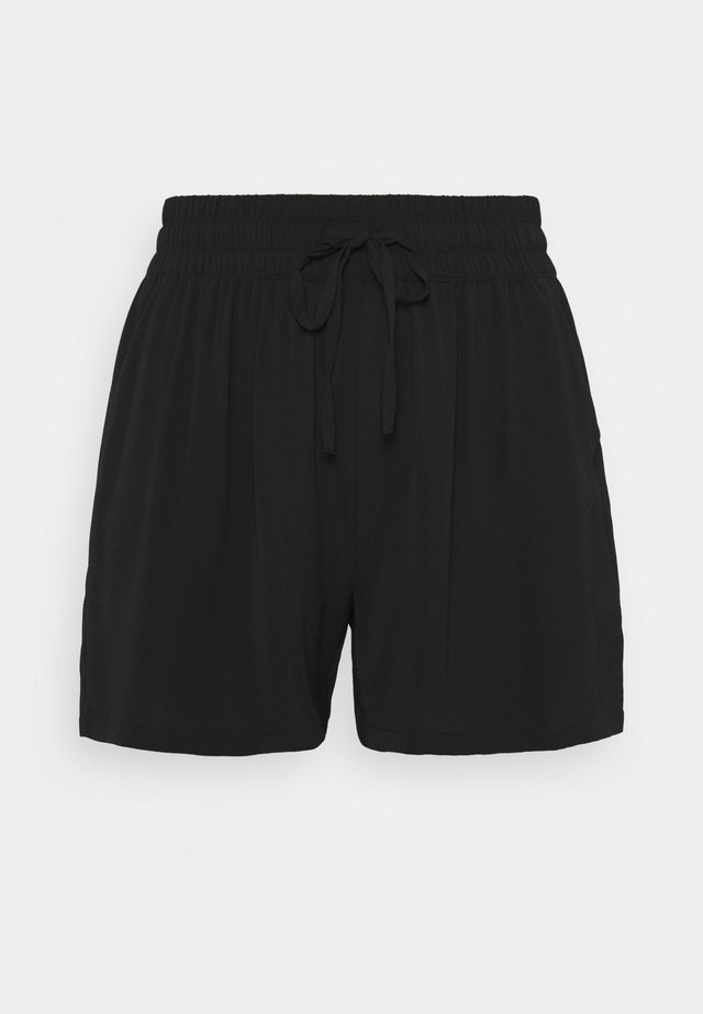 CARLUXINA SOLID - Shorts - black
