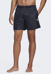 adidas Performance - CLX SOLID SWIM SHORTS - Sports shorts - blue - 0