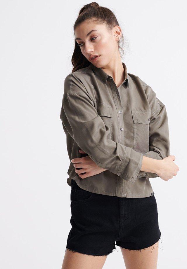 DESERT  - Button-down blouse - khaki