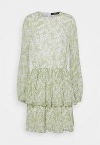 Gina Tricot - AMBER PLEATED DRESS - Day dress - green - 5