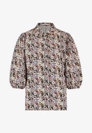 PIEN PAISLEY - Button-down blouse - cream dessin