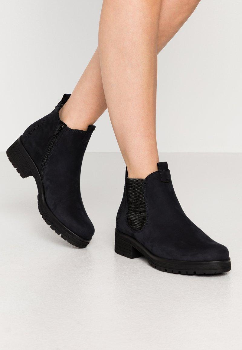 Gabor Comfort - Ankle boots - ocean