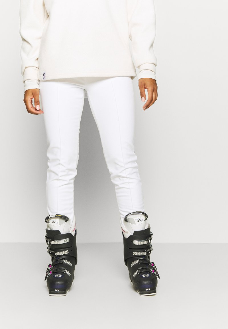 Luhta - JOENTAKA - Ski- & snowboardbukser - optic white