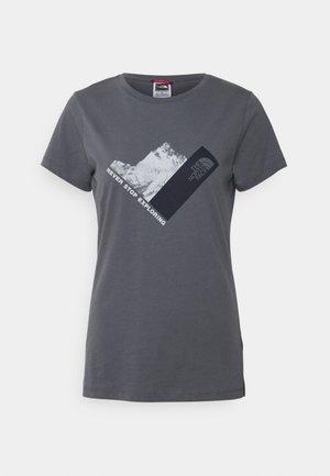 NEW CLIMB TEE - T-shirts print - vanadis grey