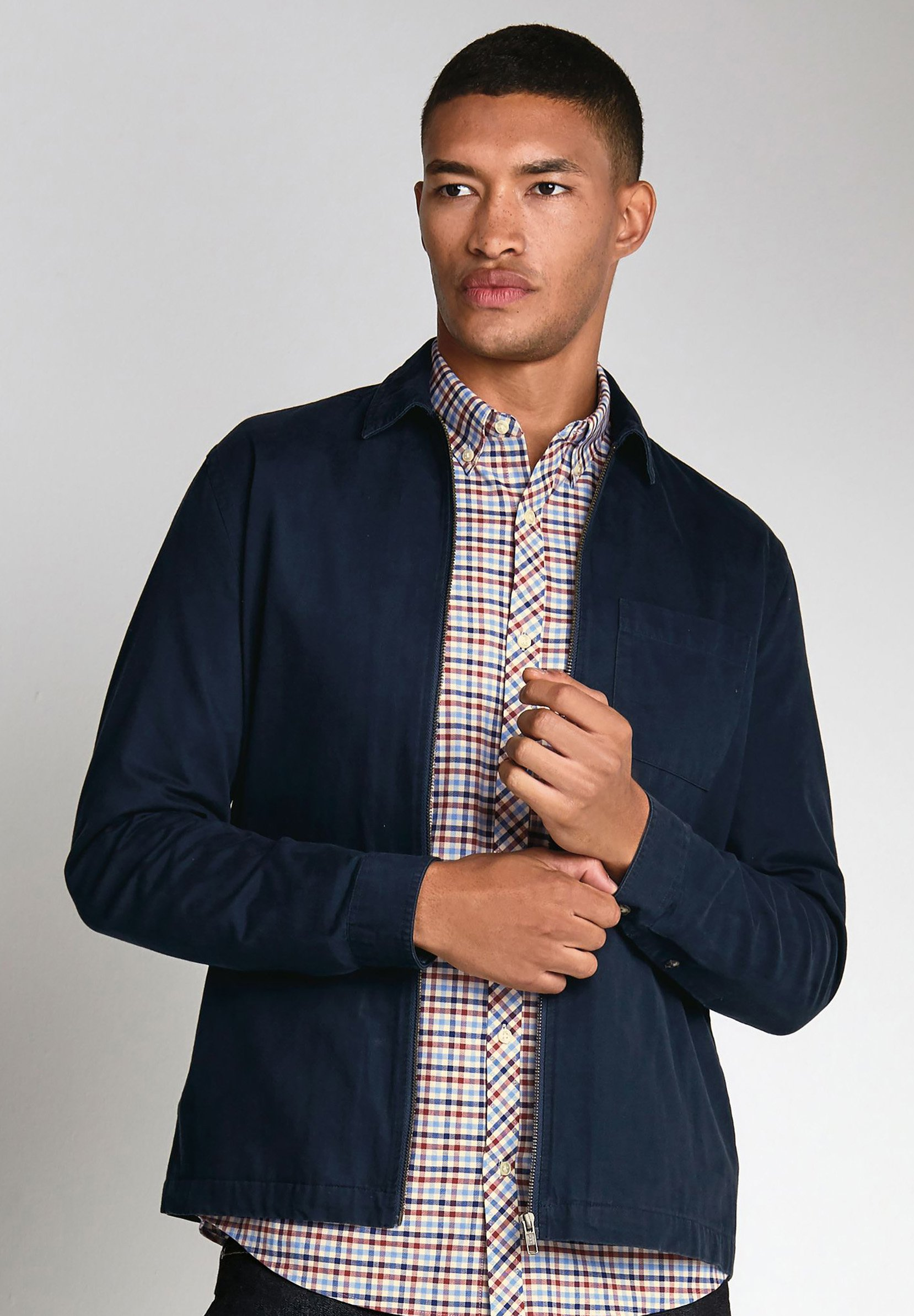 Homme GINGHAM STRETCH OXFORD - Chemise