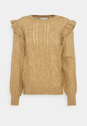 Jumper - camel chine