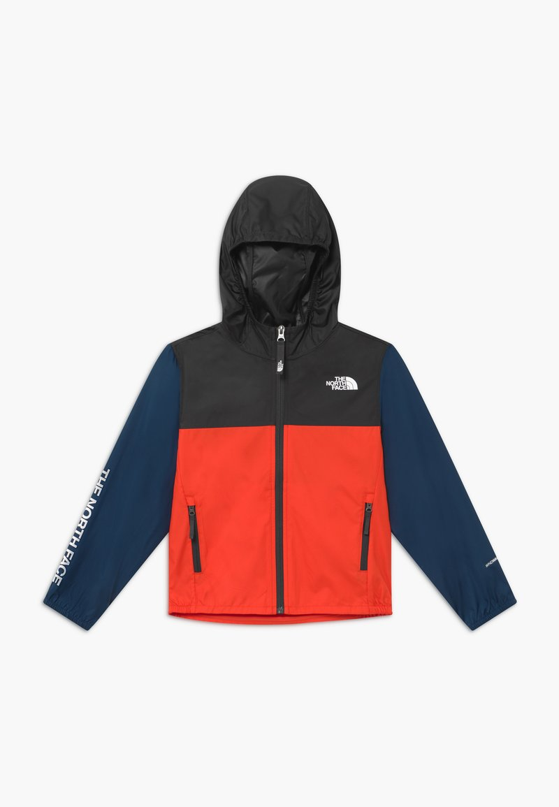 The North Face - YOUTH REACTOR - Veste coupe-vent - fiery red/asphalt grey