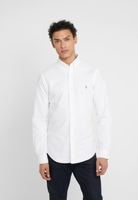 Polo Ralph Lauren - OXFORD SLIM FIT - Skjorter - white - 0