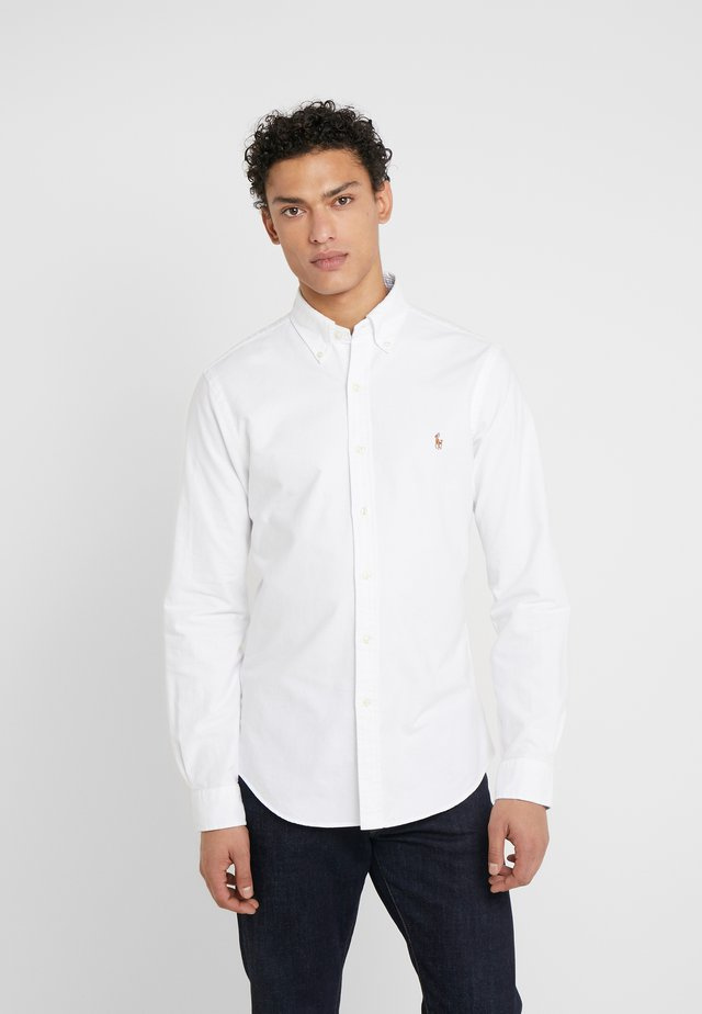 OXFORD SLIM FIT - Skjorte - white