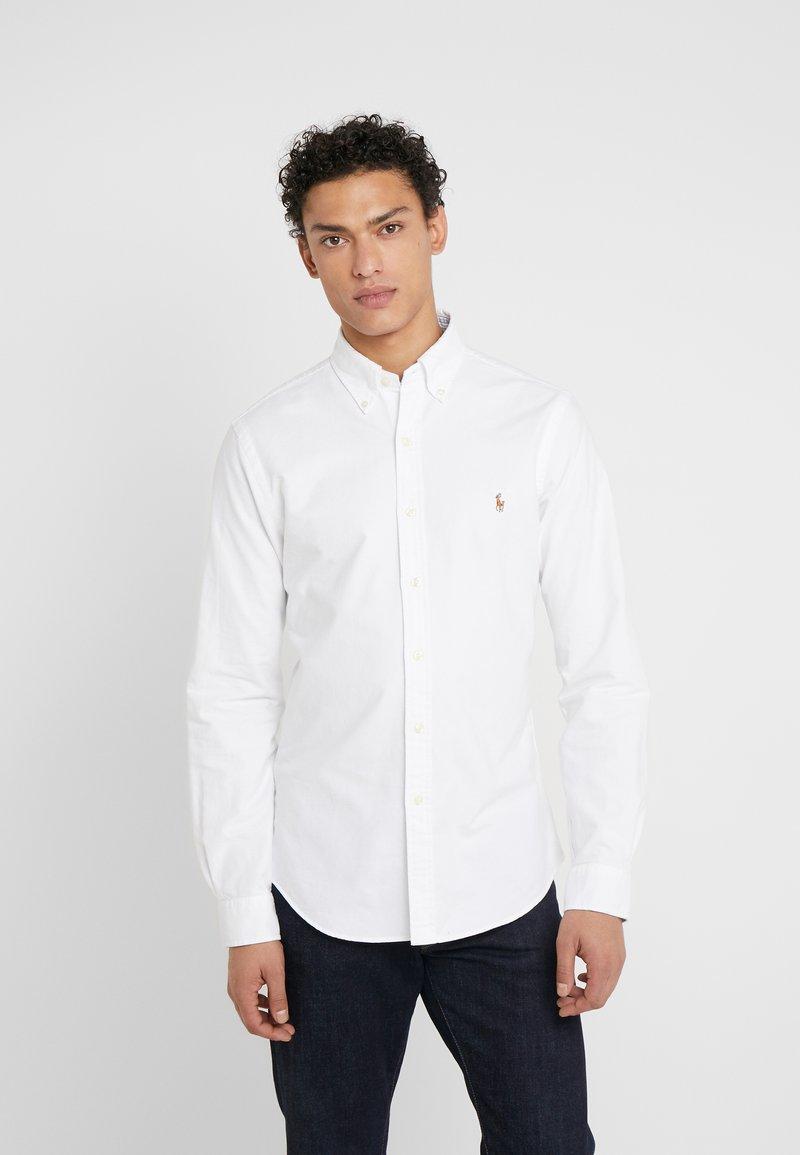 Polo Ralph Lauren - OXFORD SLIM FIT - Košile - white