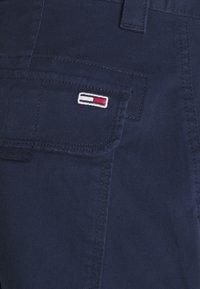 Tommy Jeans - WASHED CARGO - Shorts - twilight navy - 5