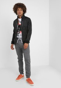 Superdry - Tracksuit bottoms - flint grey grit - 1