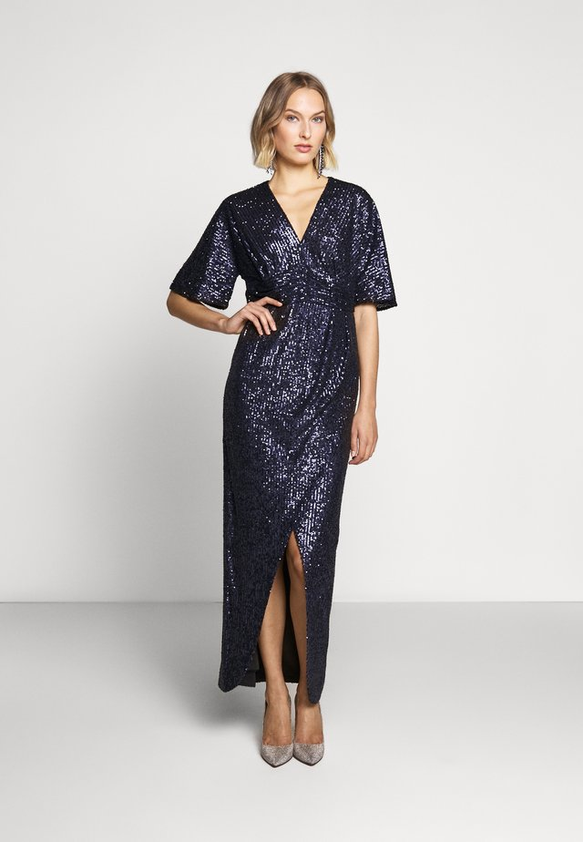ZOELLE DRESS LUX CAPSULE COLLECTION - Iltapuku - space navy