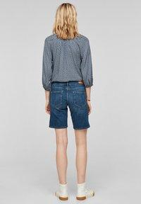 s.Oliver - Denim shorts - medium blue - 2