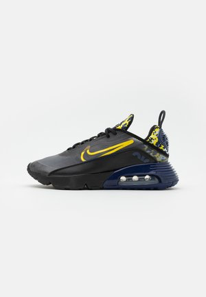 AIR MAX 2090 - Sneakersy niskie - black/tour yellow/binary blue