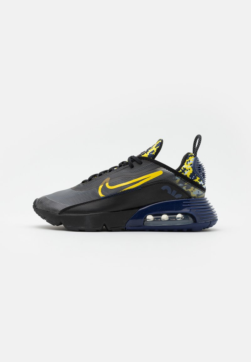 Nike Sportswear - AIR MAX 2090 - Trainers - black/tour yellow/binary blue