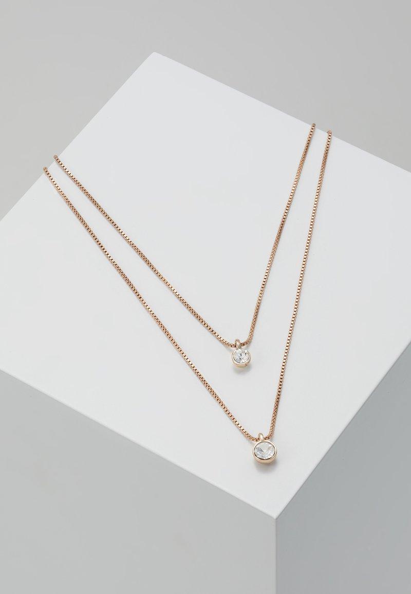 Pilgrim - Necklace - rosegold-coloured