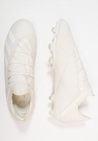 adidas Performance - X 18.2 FG - Moulded stud football boots - offwhite/footwear white/core black - 1