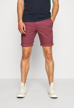 SLHSTRAIGHT PARIS - Shorts - wild ginger