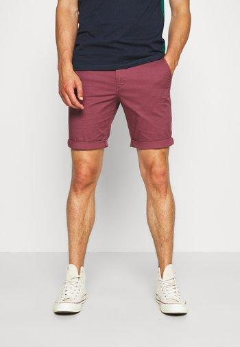 SLHSTRAIGHT PARIS - Shorts - wild ginger