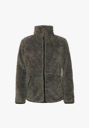 Fleece jacket - dark grey melee