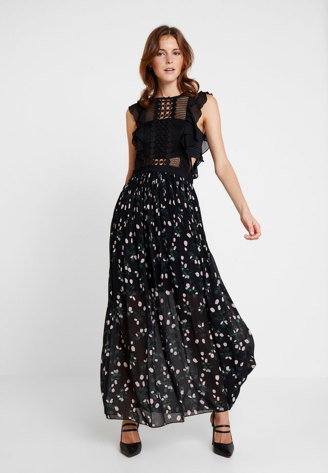 Cocktail dress / Party dress - black/multicolor