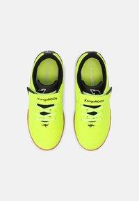 KangaROOS - K5-COMB EV - Sneaker low - neon yellow/jet black - 3