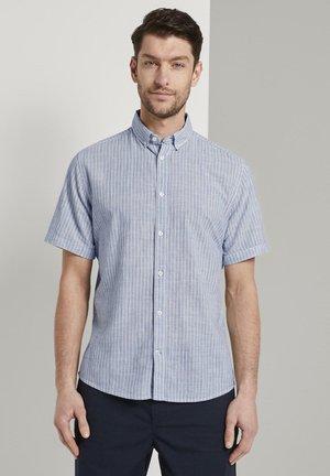MIT STREIFENMUSTER - Shirt - blue turquoise stripe