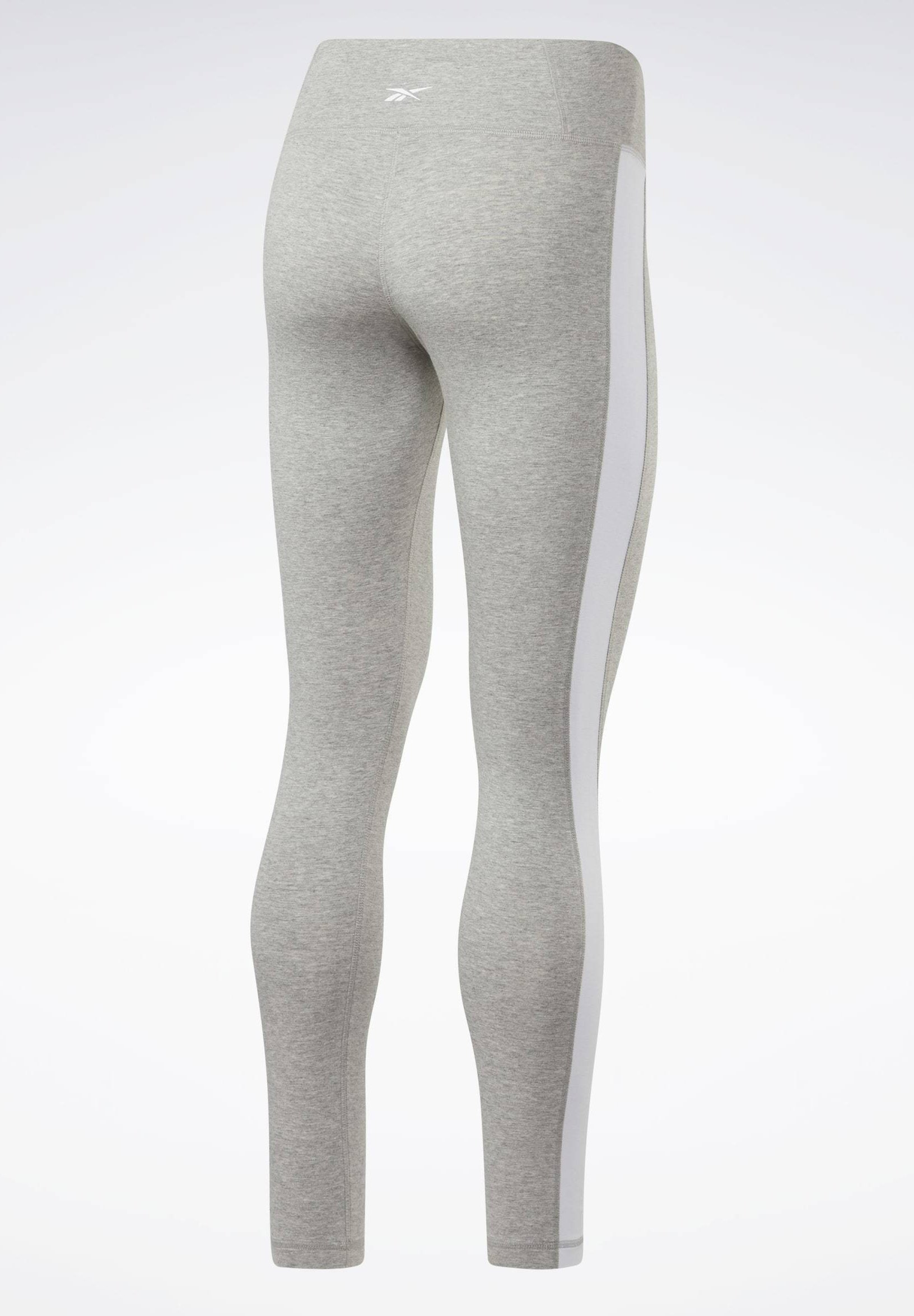 Reebok Training Essentials Linear Logo Leggings - Leggings - Grey FqCak