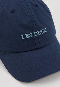 Les Deux - TOULOUSE POPLIN DAD  - Caps - dark navy/provincial blue - 5