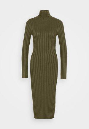 Shift dress - olive