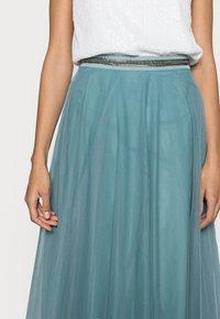 Esprit Collection - SKIRT - Spódnica trapezowa - dark turquoise - 4