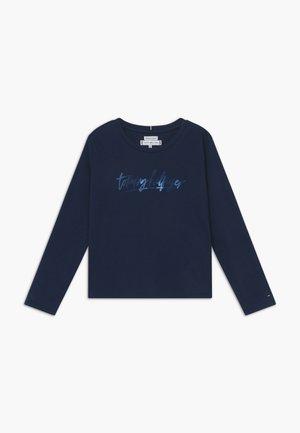 VINYL - Top sdlouhým rukávem - blue