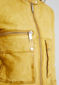 Maze - HAMILL - Leather jacket - curry - 5