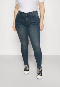 CAPSULE by Simply Be - Skinny džíny - vintage indigo - 0