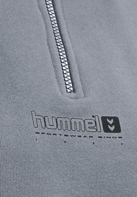 Hummel - HMLLGC NIKKA CROPPED - Strikpullover /Striktrøjer - grey melange - 10