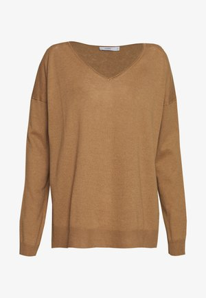 WOMEN´S - Strikpullover /Striktrøjer - golden oak