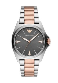 Emporio Armani - Hodinky - silver-coloured/rose - 0