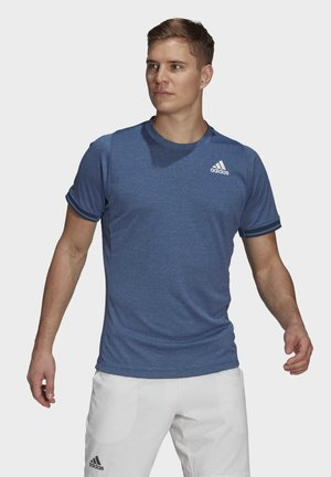 TENNIS FREELIFT T-SHIRT - Print T-shirt - blue