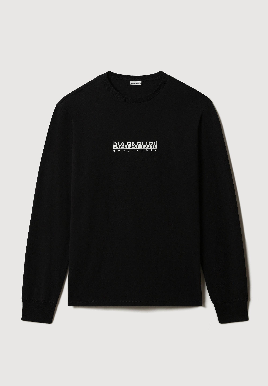 Uomo S-BOX LS - Maglietta a manica lunga