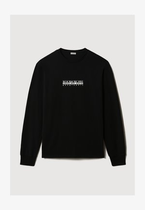 S-BOX LS - Maglietta a manica lunga - black