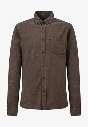 Shirt - brown melange