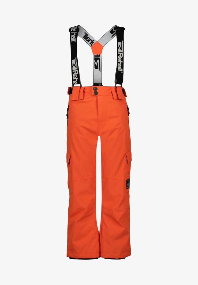 Snow pants - orange