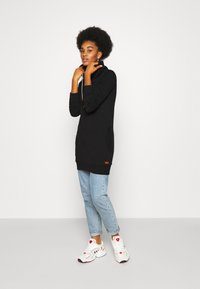 ONLY - ONLBETTE LONG HIGHNECK  - Hoodie - black - 1